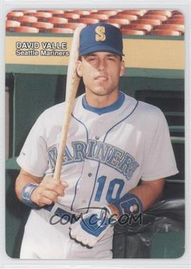 1989 Mother's Cookies Seattle Mariners - Stadium Giveaway [Base] #9 - Dave Valle