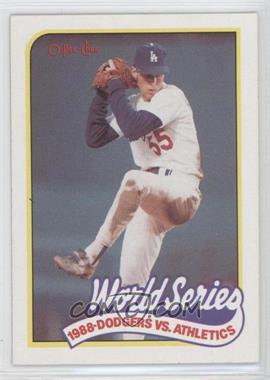 1989 O-Pee-Chee #380 - Orel Hershiser - Courtesy of COMC.com