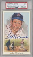 Ted Williams [PSA/DNA Certified Encased] #/10,000