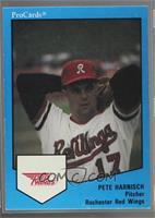 Pete Harnisch (Stats through 1989)
