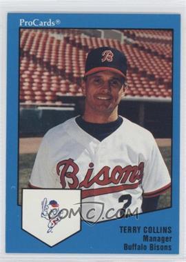 1989 ProCards Minor League - [Base] #1668 - Terry Collins