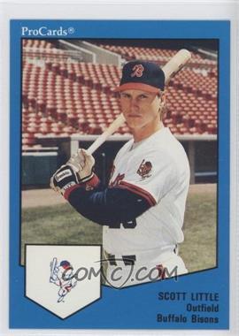 1989 ProCards Minor League - [Base] #1681 - Scott Little
