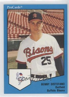 1989 ProCards Minor League - [Base] #1682 - Benny Distefano