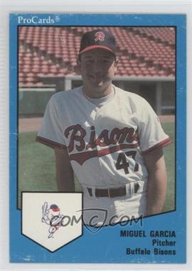 1989 ProCards Minor League - [Base] #1686 - Miguel Garcia