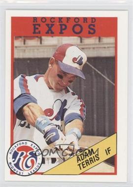1989 Rockford Litho Center Rockford Expos - [Base] #21 - Adam Terris