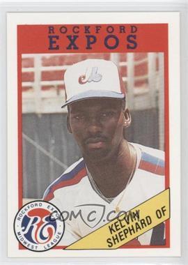 1989 Rockford Litho Center Rockford Expos - [Base] #44 - Kelvin Shephard