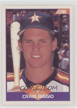 1989 Score - [Base] #237 - Craig Biggio
