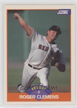 1989 Score - [Base] #350.2 - Roger Clemens (778 Career Wins)
