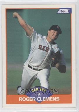 1989 Score - [Base] #350.2 - Roger Clemens (Error: 778 Career Wins on Back)