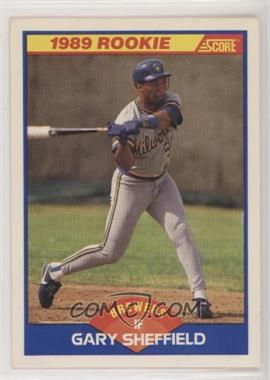 1989 Score Base 625 Gary Sheffield