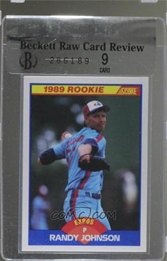 1989 Score Base 645 Randy Johnson Brcr 9