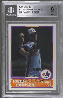 1989 Score Factory Set Young Superstars Ii 32 Randy Johnson