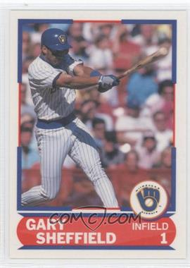 1989 Score - Young Superstars I #25 - Gary Sheffield