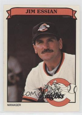 1989 Smittys/Toyota Charlotte Kinghts - [Base] #2 - Jim Essian