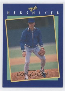 1989 Socko Tips From Orel Hershiser #NoN - Orel Hershiser (Fielding) - Courtesy of COMC.com