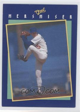 1989 Socko Tips From Orel Hershiser #NoN - Orel Hershiser (Pitching Motion) - Courtesy of COMC.com