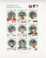 Chris Sabo, Walt Weiss, Willie Mays, Kirk Gibson, Ted Williams, Jose Canseco, G…