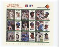Orange - Casey Stengel, Jim Rice, Reggie Jackson, Jerome Walton, Bob Knepper, A…