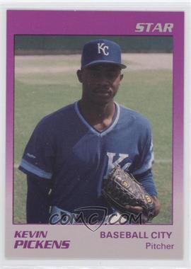 1989 Star Baseball City Royals - [Base] #21 - Kevin Pickens
