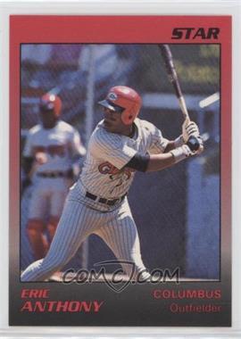 1989 Star Columbus Mudcats - [Base] #2 - Eric Anthony
