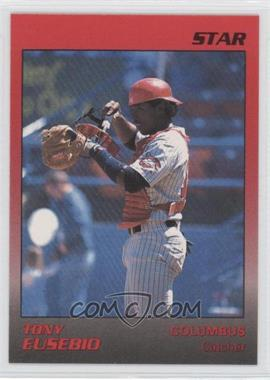 1989 Star Columbus Mudcats - [Base] #8 - Tony Eusebio