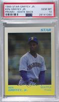 Ken Griffey Jr. (White/Yellow) [PSA 10 GEM MT]
