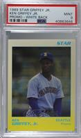 Ken Griffey Jr. (White/Yellow) [PSA 9 MINT]