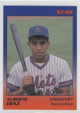 1989 Star Kingsport Mets - [Base] #7 - Al Diaz