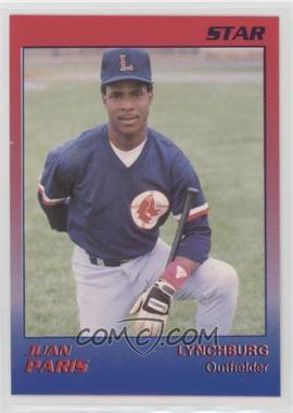 1989 Star Lynchburg Red Sox - [Base] #17 - Juan Paris