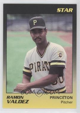 1989 Star Princeton Pirates - [Base] #22 - Ramon Valdez