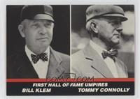 First Hall of Fame Umpires (Bill Klem, Tommy Connolly)