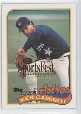 1989 Topps - [Base] - 2001 SCD SportsFest #369 - Ken Caminiti /1
