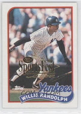 1989 Topps - [Base] - 2001 SCD SportsFest #635 - Willie Randolph /1