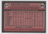 Donell Nixon