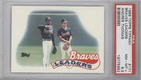 Atlanta Braves Team [PSA 8.5]
