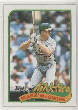 1989 Topps - [Base] #70 - Mark McGwire