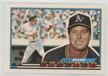 1989 Topps Big Base 34 Mark Mcgwire