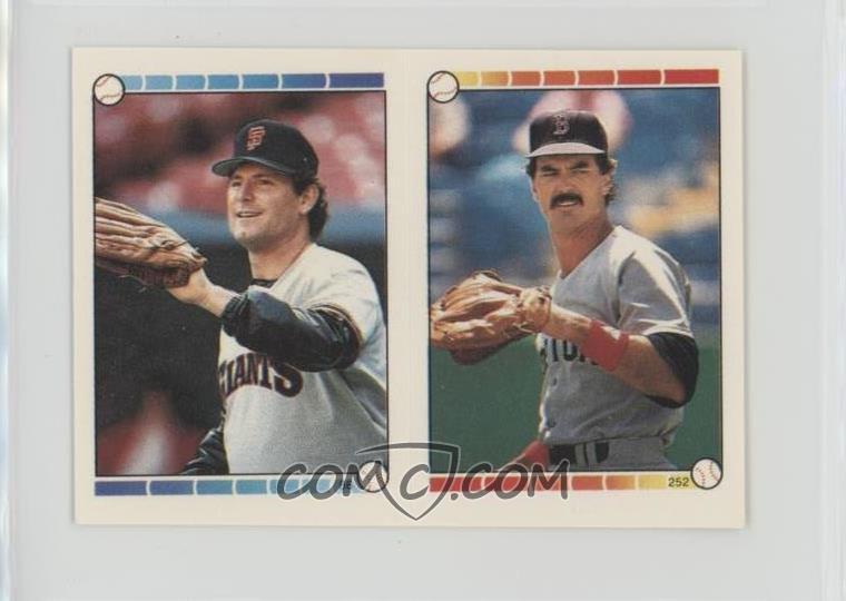 1989 Topps Super Star Sticker Back Cards Base 3410 Will