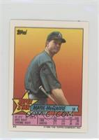 Mark McGwire (Randy Ready 106, Scott Bailes 217)