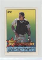 Benny Santiago (Gary Carter 2, Steve Farr 272)