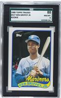 Ken Griffey Jr. [SGC 88 NM/MT 8]