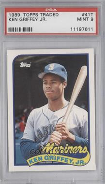 1989 Topps Traded - Box Set [Base] #41T - Ken Griffey Jr. [PSA 9]