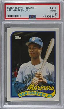 1989 Topps Traded - Box Set [Base] #41T - Ken Griffey Jr. [PSA 9 MINT]