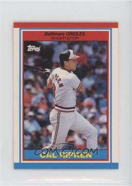 1989 Topps United Kingdom Minis - [Base] #64 - Cal Ripken Jr.
