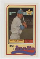 Billy Williams [Noted]