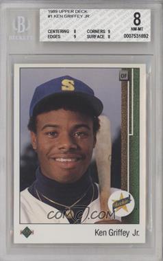 1989 Upper Deck - [Base] #1 - Ken Griffey Jr. [BGS8NM‑MT]