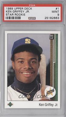1989 Upper Deck - [Base] #1 - Ken Griffey Jr. [PSA9]