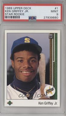 1989 Upper Deck - [Base] #1 - Ken Griffey Jr. [PSA9MINT]