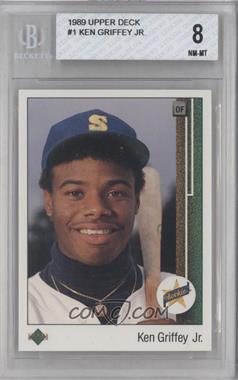 1989 Upper Deck - [Base] #1 - Ken Griffey Jr. [BGS 8]