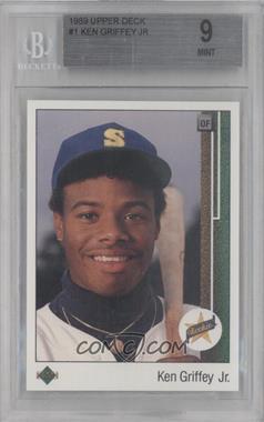 1989 Upper Deck - [Base] #1 - Ken Griffey Jr. [BGS9]